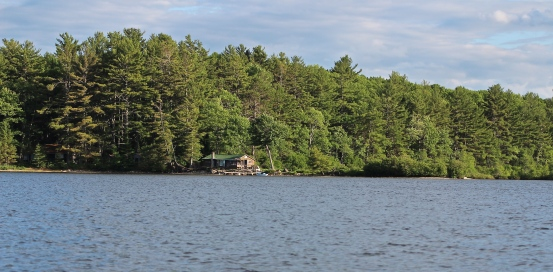 Cabin on Big Lake